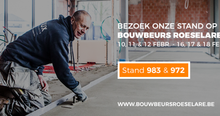 Bouwbeurs Roeselare 2018